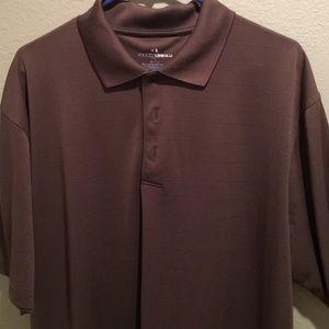 Grand Slam Brown Golf Shirt